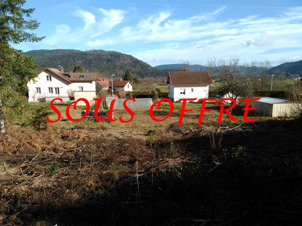 Terrain REMIREMONT 33000€ Marc HENRY IMMOBILIER